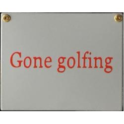 New England Style - Gone golfing