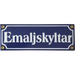 Emaljskylt rektangulär - Emaljskyltar