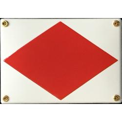 Signalflagga F - Tag kontakt med mig
