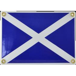 Signalflagga M - Fartyget står stilla
